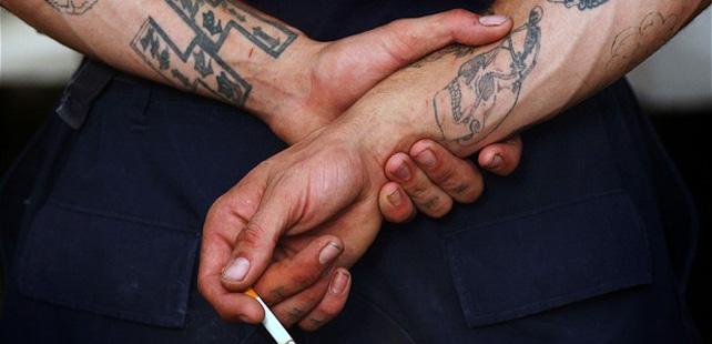 25 des homicides dans les prisons am ricaines sont commis par un seul gang. Black Bedroom Furniture Sets. Home Design Ideas