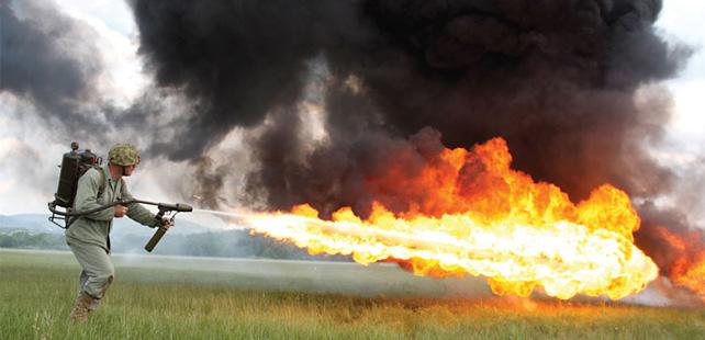 MAPPING DES « CRIMES DE MASSE » DU REGIME KABILA DEPUIS JUILLET 2001 – OFFICIELLEMENT REPERTORIES Lance-flamme