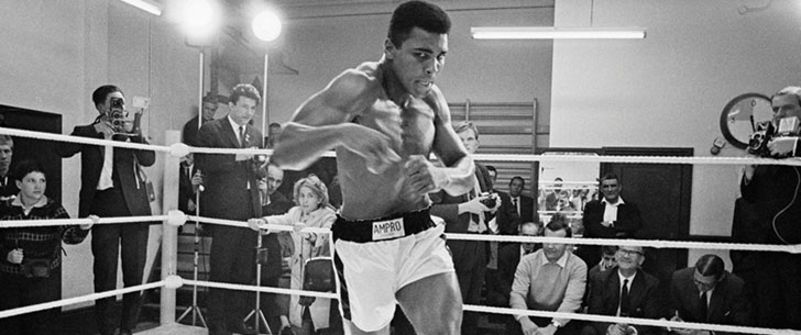 Mohamed Ali est devenu boxeur parce que quelqu'un lui a volé son vélo quand il avait 12 ans !