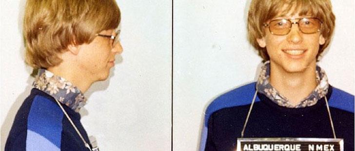 En 1975, Bill Gates a été arrêté pour conduite sans permis et excès de vitesse !
