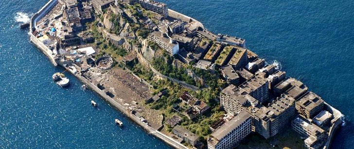 Il y a une île abandonnée au Japon qui avait auparavant une densité de population de 108 000 personnes par kilomètre carré !