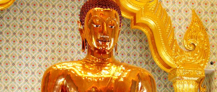 Une statue de Bouddha faite de 5 tonnes d'or massif a été abandonnée jusqu'à 1955 !
