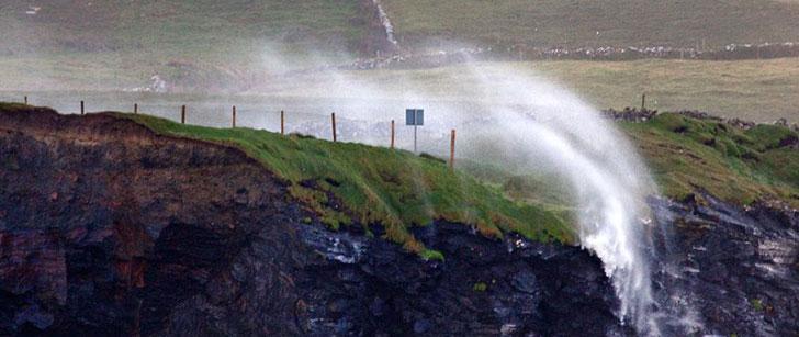 Il y a des chutes d'eau qui peuvent couler à l'envers !