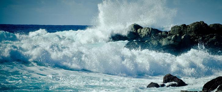La vitesse des vagues du tsunami peuvent atteindre 800 km/h !