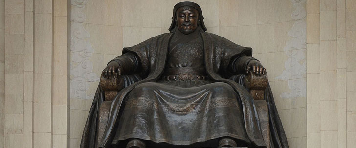Gengis Khan a tué 11% de la population mondiale !