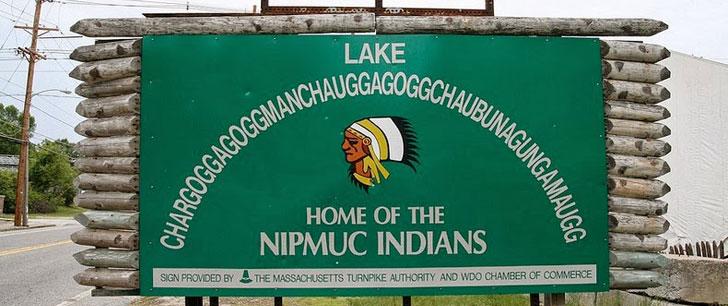 """Chargoggagoggmanchauggagoggchaubunagungamaugg"" est le nom d'un lac aux Etats-Unis !"