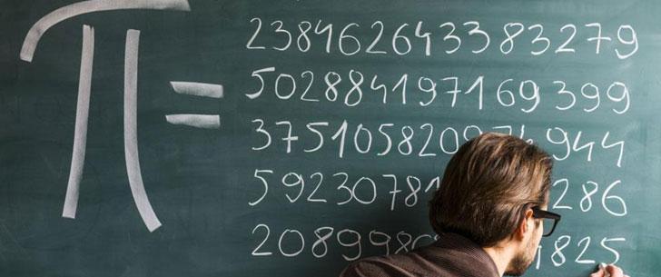 Un étudiant chinois a pu mémoriser 67 890 chiffres de pi !