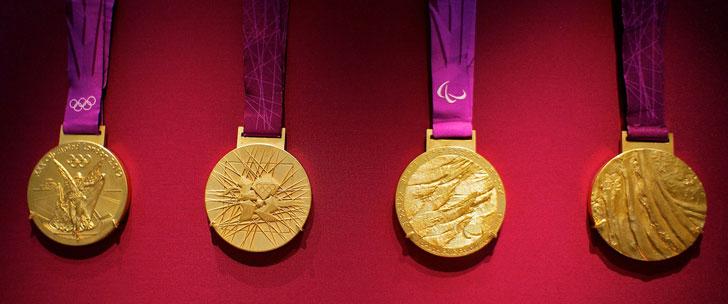 Une médaille d'or olympique est composée de 98,9% d'argent !