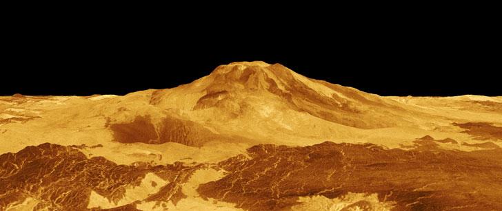 Le saviez-vous?Il neige du métal sur la planète Vénus ! Venus-neige-metal