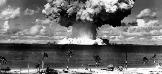L'atoll de Bikini et les maillots de bain !