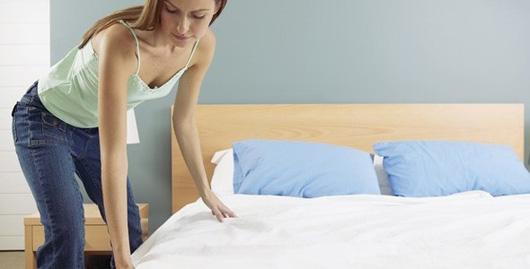 Pour une bonne hygiène ne faites plus votre lit !