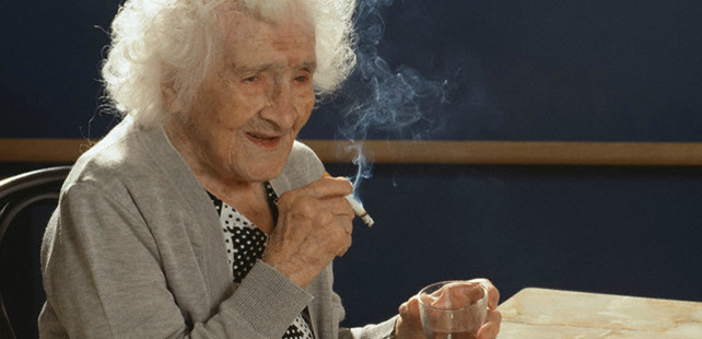 La personne ayant vécu le plus longtemps au monde a fumé pendant 96 ans !