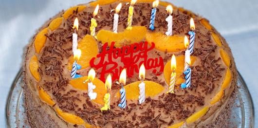 L'origine du gâteau d'anniversaire