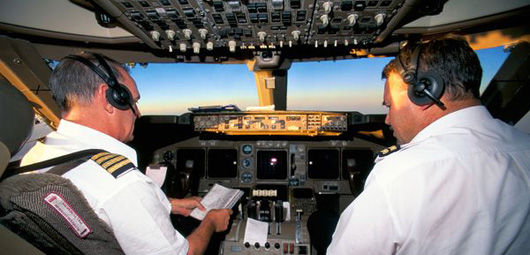Le pilote et le copilote d'un vol ne mangent jamais les mêmes repas
