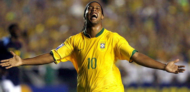 A l'âge de 13 ans, Ronaldinho a marqué 23 buts en une seule rencontre !