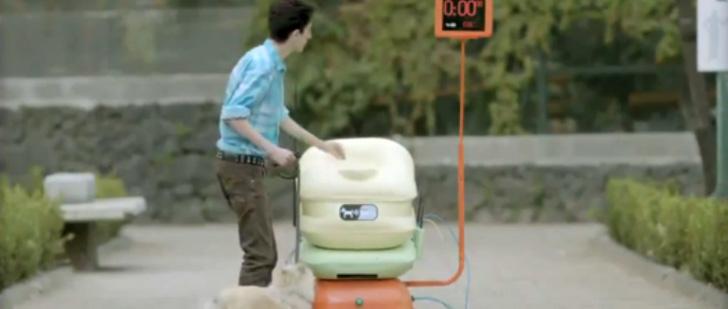 Au Mexique, il existe des poubelles qui vous permettent de se connecter au wifi contre le dépôt des déjections canines !