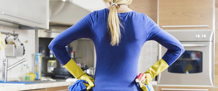Le nettoyage aide à réduire la dépression !