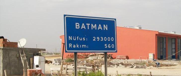 Il existe une province en Turquie nommée Batman !
