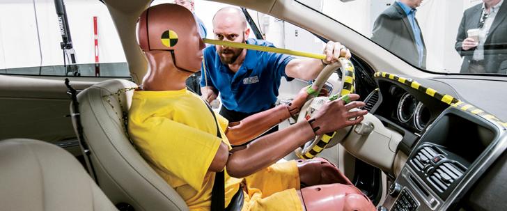 Le saviez-vous?Avant l'invention des mannequins d'essai de choc, les tests ont été effectués avec des cadavres ! Mannequin-essai-choc