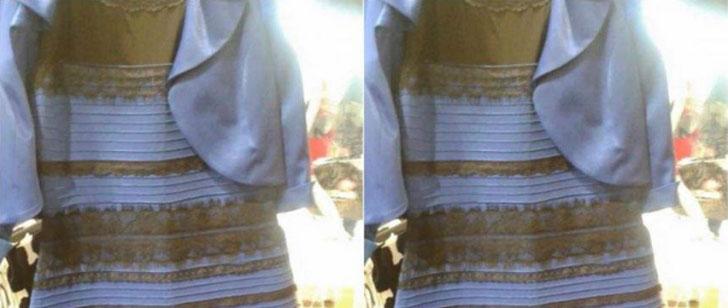 Pourquoi on voit cette robe différemment !