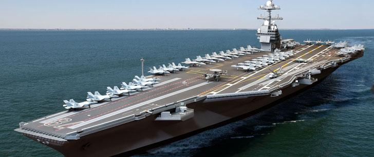 Le coût d'exploitation d'un porte-avions américain est de 7 millions de dollars par jour !