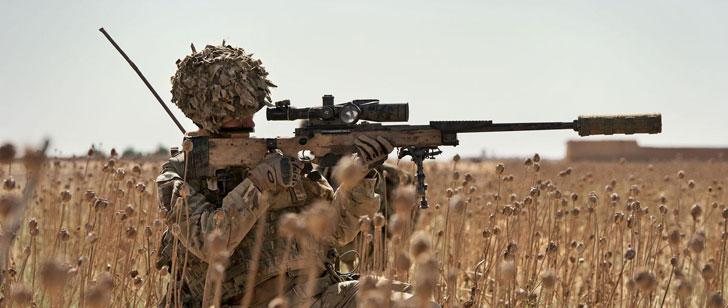 Le record du plus long tir de sniper est de 2815 mètres !
