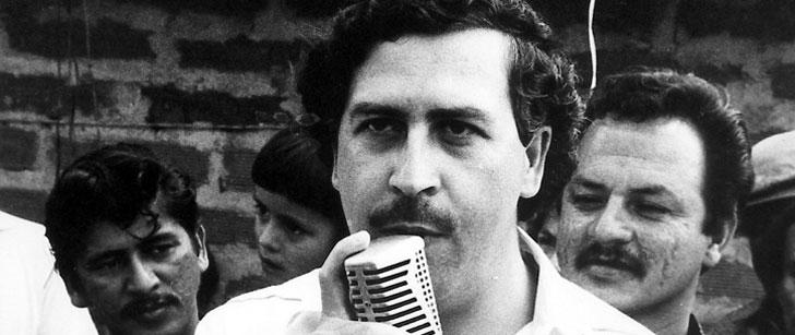 Pablo Escobar a brulé 2 millions de dollars pour réchauffer sa fille !