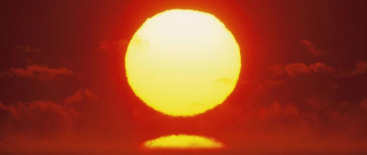 Le soleil perd 4 millions de tonnes métriques de masse chaque seconde !