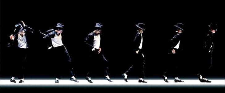Le saviez-vous?Le moonwalk n'a pas été inventé par Michael Jackson ! Michael-jackson-moonwalk