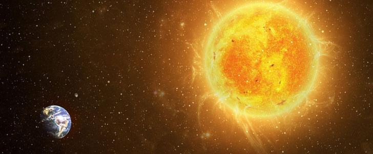Le Soleil représente 99,86% de la masse totale du système solaire !