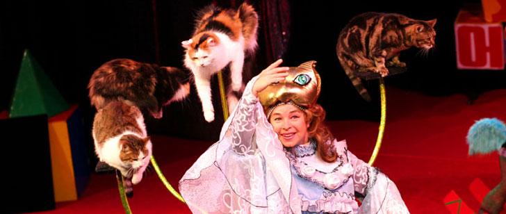 Il y a un théâtre en Russie où tous les acteurs sont des chats !
