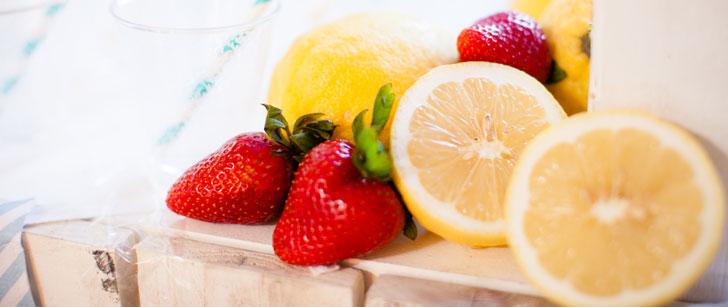 Le citron contient plus de sucre que la fraise !
