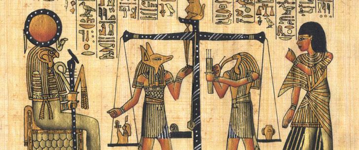 Les Égyptien anciens croyaient que le cœur était formé à partir d'une goutte de sang du cœur de la mère !