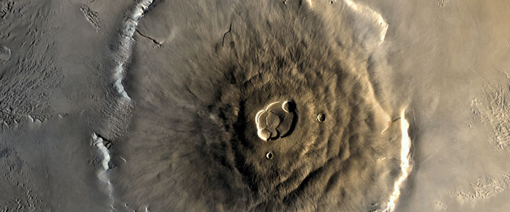 Le plus grand volcan du Système solaire est haut de 21 229 mètres !