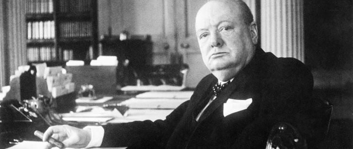Un cigare à moitié fumé par Winston Churchill a été vendu à 12 000 dollars !