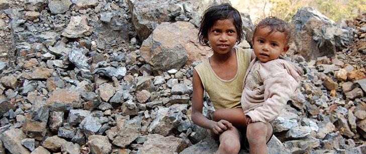 64% des personnes extrêmement pauvres du monde vivent dans seulement 5 pays !