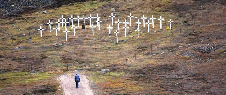 Dans la ville norvégienne de Longyearbyen, il est interdit de mourir.