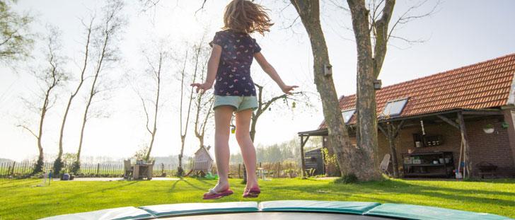 Selon la NASA, sauter sur un trampoline est 68% plus efficace que le jogging !