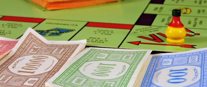 Aux USA, chaque année, plus de billets de Monopoly sont imprimés que de vrais dollars !