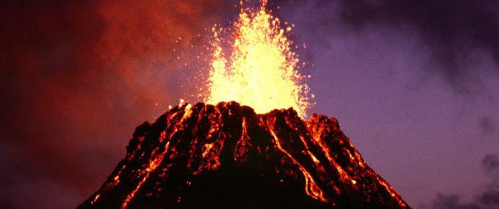 Le saviez-vous?Chaque jour, entre 10 et 20 volcans entrent en éruption quelque part sur la Terre ! Volcan