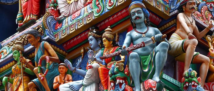 Les hindous vénèrent plus de 33 millions de dieux !