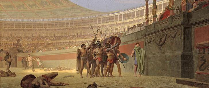 Le saviez-vous?Dans la Rome Antique, le sang des gladiateurs était vendu après le combat ! Gladiateur