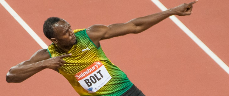 Usain Bolt JO pékin 2008