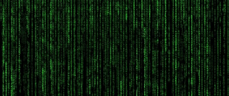Le saviez-vous ? L'emblématique code vert du film « Matrix » n'est que des recettes de sushi ! Code-matrix
